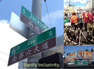 Signify Inclusivity through Events, Role Models, Art